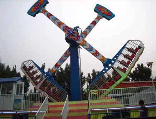 New Thrill Rides Kamikaze Ride