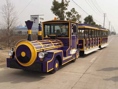 Vintage Trackless Train in Amusement Parks for Sale