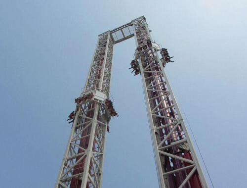 BNDT 02 - New Drop Tower Rides For Sale At Philippines - Beston Company