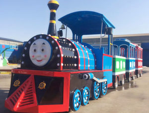 BNTT 14 - Cheap Thomas Trackless Train For Sale To Philippines - Beston Factory