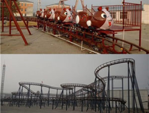 BNWM 01 - Wild Mouse Roller Coasters for Sale in Philippines - Beston Factory