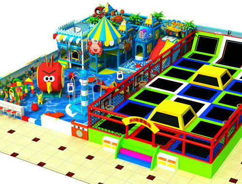 BNTP 05 - Trampoline Park Rides For Sale To Philippines - Beston Factory