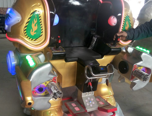 BNKR 03 - Buy Cheap Kiddie Robot Ride From Beston Factory