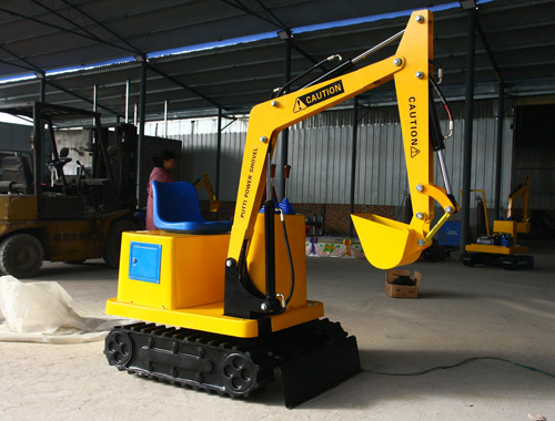 Children Excavator Ride For Free - Beston Company